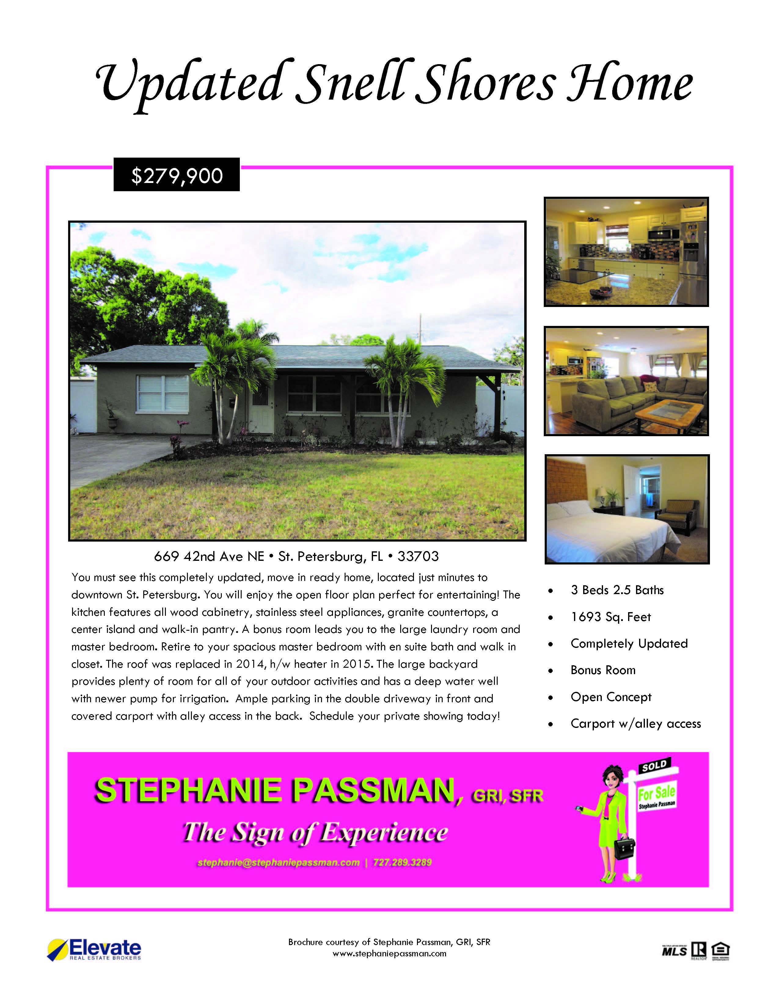 Closing in a carport to make guest suite - Click For Online Brochure